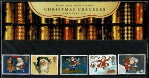 G.B.QE II 1997 CHRISTMAS STAMPS MINT (NH) SG2006-10 P.O.PACK 282 SUPERB