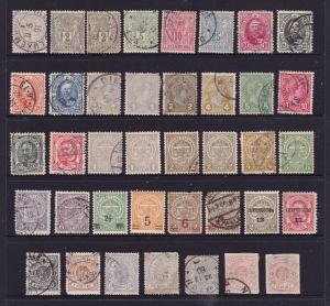 Luxembourg a small lot of earlies unsorted