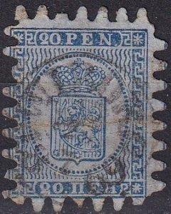 Finland #9  F-VF Used CV $57.50 (K2899)