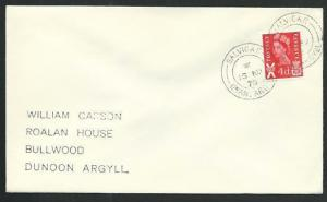 GB SCOTLAND ISLE OF SEIL 1970 cover BALVICAR / OBAN ARGYLL cds.............66322