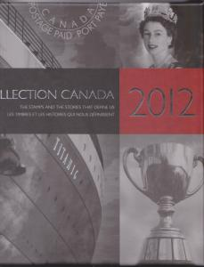 Annual Souvenir Collection Postage Stamps Canada 2012 - USC AC#55 Cat. $134.00