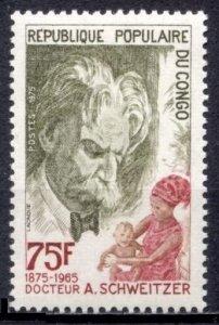 1975 Congo Brazzaville 491 Nobel Laureates / Albert Schweitzer