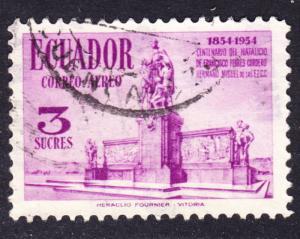 Ecuador Scott C276  VF used.