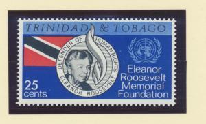 Trinidad and Tobago Scott #118, Mint Never Hinged MNH, Eleanor Roosevelt Issu...