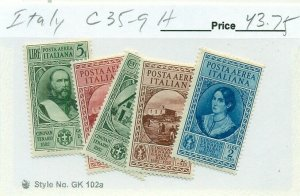 ITALY #C35-9, Mint Hinged, Scott $43.75