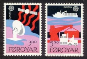 Faroe Islands Sc# 173-4 MNH Europa 1988
