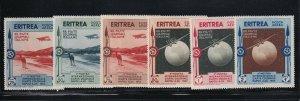 Eritrea Scott # C1 - C6 set VF OG lightly hinged nice color scv $ 33 ! see pic !
