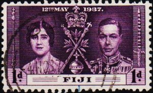 Fiji. 1937 1d S.G.246 Fine Used
