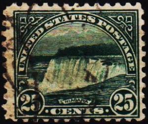 U.S.A. 1922 25c S.G.699 Fine Used