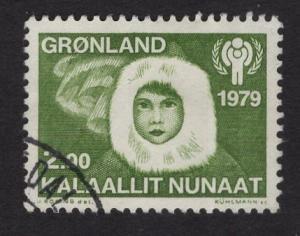 Greenland  #111 used    1979  navigator    eskimo boy