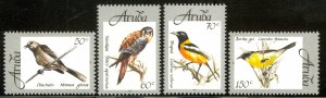 ARUBA 1998 NATIVE BIRDS Set Sc 162-165 MNH