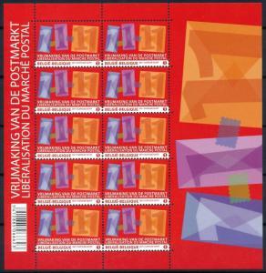 [77045] Belgium Belgien 2011 Liberation Postmarkert Miniature Sheet MNH