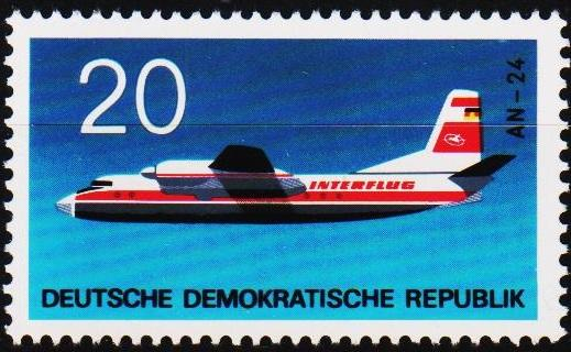 Germany(DDR). 1969 20pf S.G.E1245 Unmounted Mint