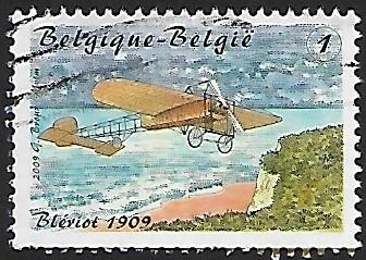 Belgium - 2371e - Flight by L. Blériot  - Used