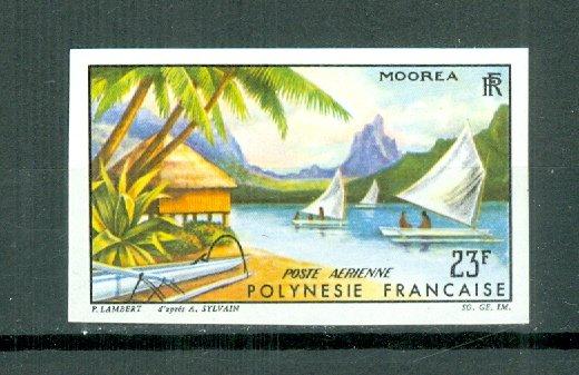 FRENCH POLYNESIA IMPERF #C32...MNH