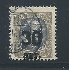 Iceland 137 used, 2018 CV $37.50