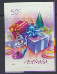 Australia  SC# 2360  MNH S/A on backing Gifts - see detail & scan