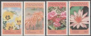 Tanzania #315-8  MNH F-VF (SU1554L)