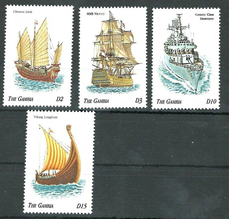 Gambia 2064-2067   Mint NH VF 1998 PD