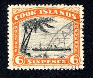 Cook Islands, Scott 96, VF, Used,  CV $2.50   ....... 1500060