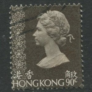 STAMP STATION PERTH Hong Kong #323 QEII Definitive FU CV$3.00