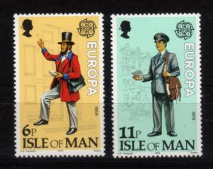 Isle of Man 1979 - EUROPA stamps Postman – Sc.# 152-3 MNH (659-2)