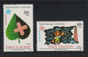 Turkey Europa CEPT 2v 1986 MNH SG#2921-2922 MI#2738-2739