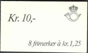 NORWAY #690 (HA15) Slot Machine Booklet, VF