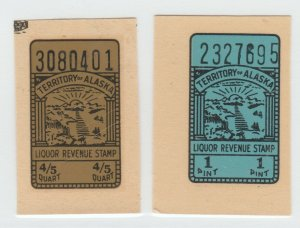 USA revenue fiscal stamp 7-29-21 - scratches on left one