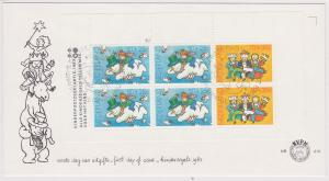 Netherlands - 1983 Christmas Semi-Postal First Day Cover