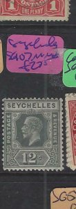 SEYCHELLES (PP2501B)  KGV  12C  SG 107   MNH