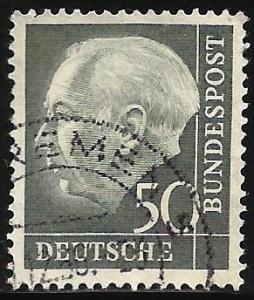 Germany 1957 Scott# 760 Used
