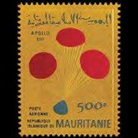 MAURITANIA 1970 - Scott# C104 Apollo 13 Gold Set of 1 NH