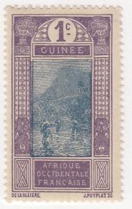 French Guinea, Scott # 63 (2), MH