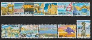 MALTA SG905/16 1991 NATIONAL HERITAGE SET MNH