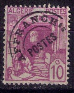 Algeria 1926 - 10c Lilac MH,Og Mi 39v - Precancel Affranchts - F-VF