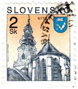 Slovakia Scott 152 (1995: Church - Nitra)