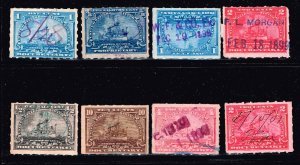 USA STAMP REVENUE BOB 1898 Documentary STAMP COLLECTION LOT