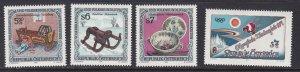 Austria # 1633-1636, Complete sets, NH & LH, 1/3 Cat.