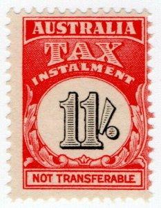(I.B) Australia Revenue : Tax Instalment 11/-