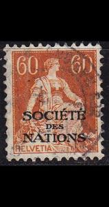 SCHWEIZ SWITZERLAND [SDN] MiNr 0010 x ( O/used )