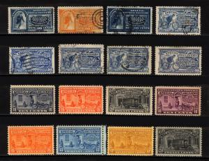 #E2-#E19 10c-20c 1888-1951 Special Delivery M&U Lot Fresh 16 items