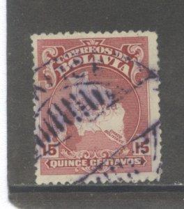 Bolivia 191  Used