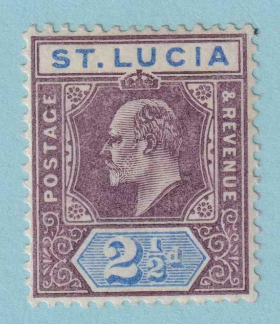 ST LUCIA 46  MINT HINGED OG * NO FAULTS EXTRA FINE!