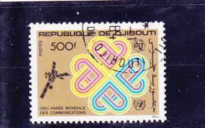 Djibouti  Scott#  561  CTO