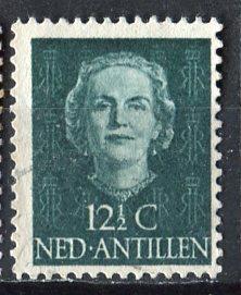 Netherlands Antilles 1950: Sc. # 217; O/Used Single Stamp