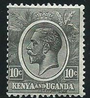 Kenya & Uganda SG 80 Mint Hinged