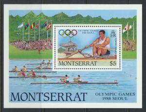 Montserrat    SG  MS756  SC# 680  Olympic Games -  Seoul 1988