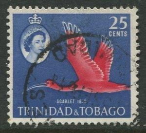 STAMP STATION PERTH Trinidad & Tobago #97 QEII Pictorial Definitive Used 1960