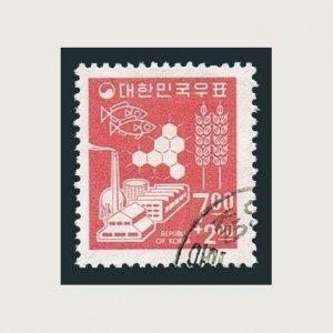 Korea South B8,used.Michel 564. Symbols of Thrift & Development,1966.